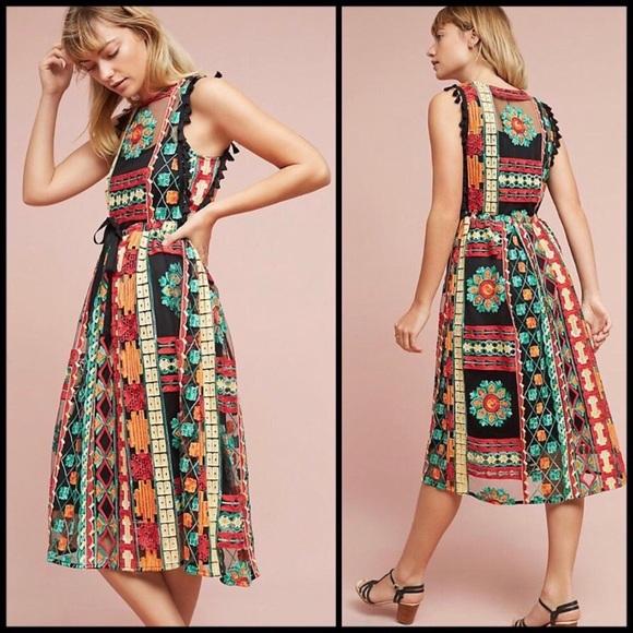 2cae60388ed7 Anthropologie Dresses & Skirts - Anthropologie Eva Franco Saskia  Embroidered Dress